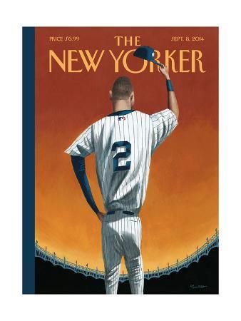 Derek Jeter Bows Out - The New Yorker Cover, September 8, 2014