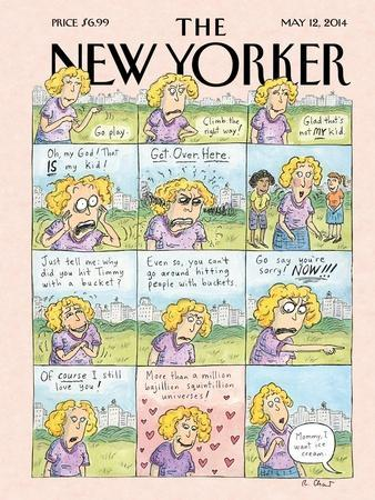 Mother's Day - The New Yorker Cover, May 12, 2014