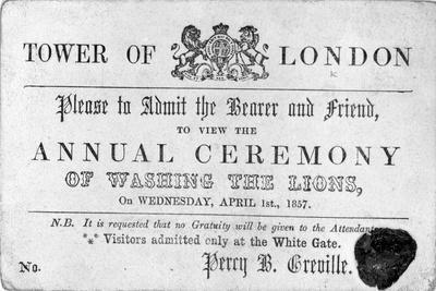 Tower of London Ticket