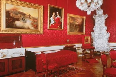 The Bedroom of Emperor Franz Joseph of Austria (1830-1916)