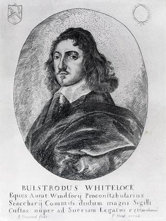 Bulstrode Whitelock (1605-75), commissioner of the Great Seal under Cromwell