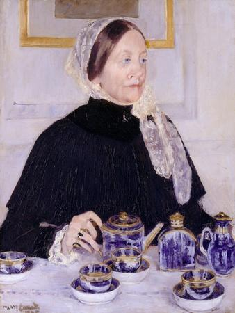 Lady at the Tea Table, 1883-5
