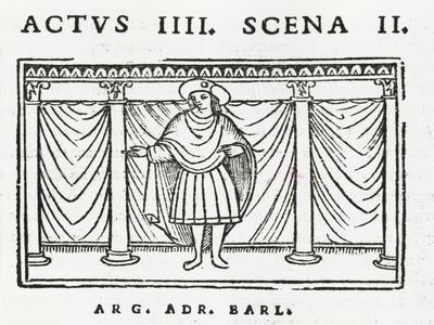 Act IV Scene II of 'Andria' by Terence