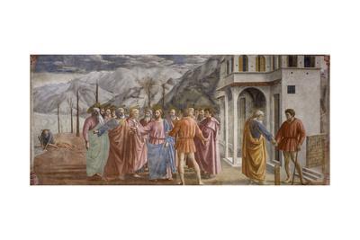 Tribute Money, 1425-27