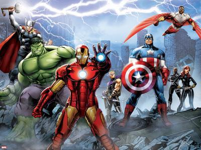 Avengers Assemble - Situational Art