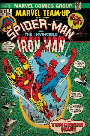 Marvel Comics Retro Style Guide: Spider-Man, Iron Man