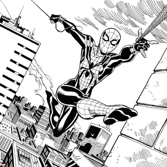 'Ultimate Spider-Man Style Guide: Spider-Girl' Prints