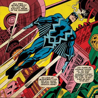 Marvel Comics Retro Style Guide: Black Bolt