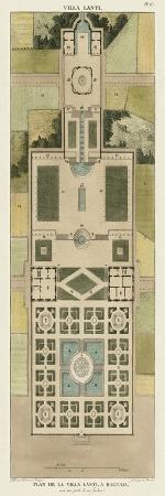 Plan De La Villa Lanti