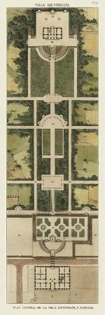 Plan De La Villa Giustiniani
