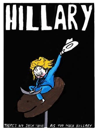 Hillary Clinton - Cartoon