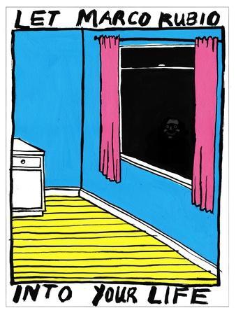 Marco Rubio - Cartoon