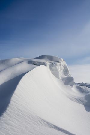 A Scenic Snow Drift