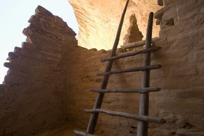Ruins of a Cliff Dwelling, Long House, in Mesa Verde National Park
