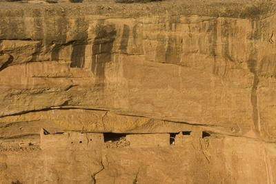 Ruins of a Cliff Dwelling, Sunset House, in Mesa Verde National Park