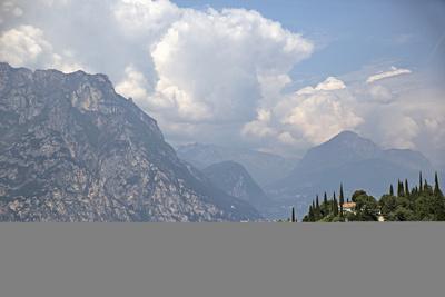 Lake Garda Near Malcesine