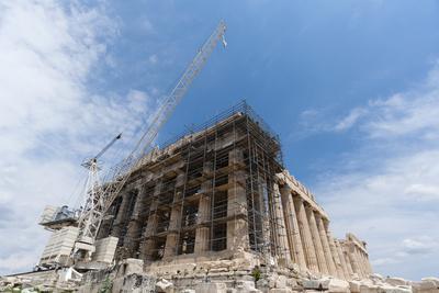 Restoration of the Parthenon, Acropolis