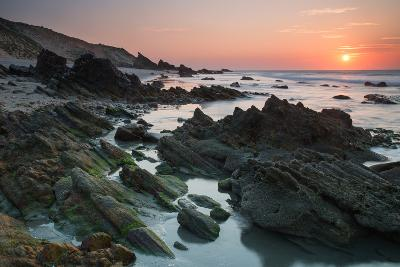 Sunset over the Rocks in Jericoacoara, Brazil
