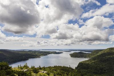 Somes Sound from the Summit of Acadia Mountain in Acadia National Park