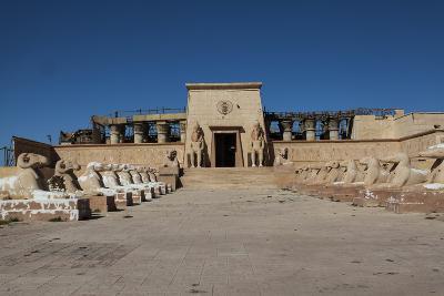 Atlas Film Studio, Film Set of Egyptian Temple