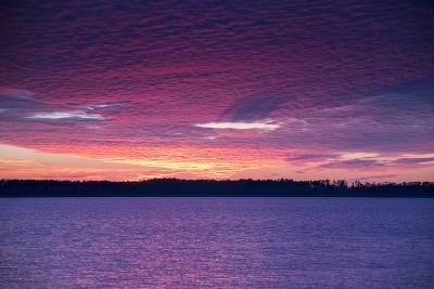 Sunset over Lake Mattamuskeet