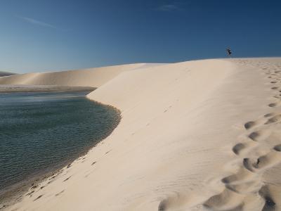 A Sand Dune Near Jericoacoara, Brazil