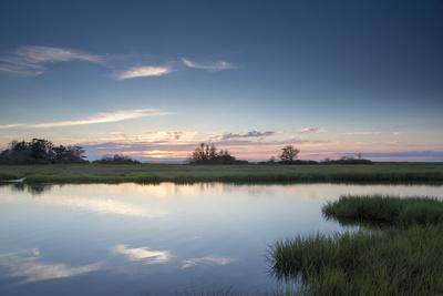 All Is Calm at the Marsh on a Summer Evening