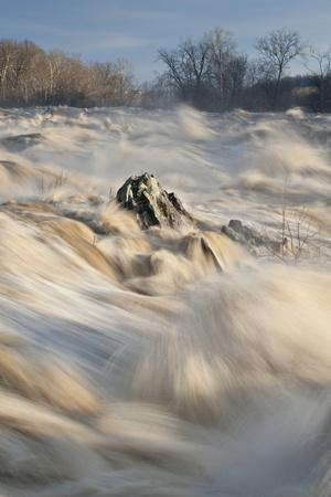 Great Falls on the Potomac River in Flood