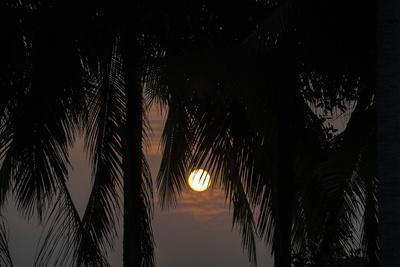 Moonrise in Luang Prabang, Laos