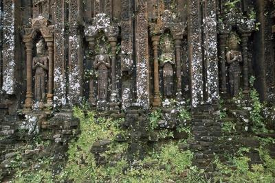 Sculptures on a Building at a Champa Kingdom Site, 4th-13th Century