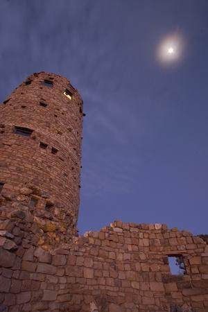 The Desert View Watchtower on Grand Canyon's South Rim