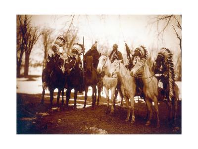Native American Indian Tribal Leaders, 1900
