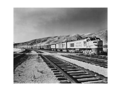 Historic Freight Train