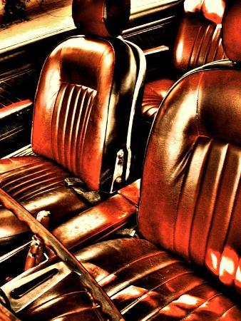 Classic Car Interior in Copper