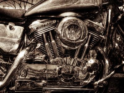 V-Twin Motorcyle Engine