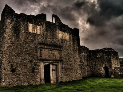 Dramatic Photograph of Beaupre Castle