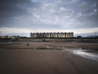 Row of Beach Houses