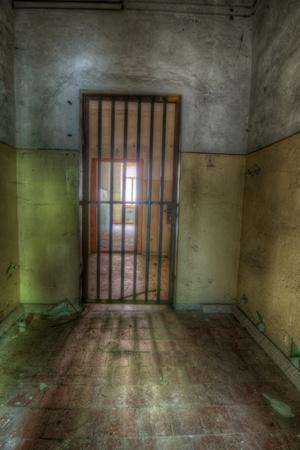 Cell with Metal Door