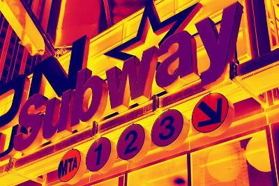 Subway Stations - Pop Art - New York City - United States