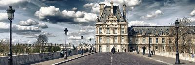 Pont Royal and the Louvre Museum - Paris - France