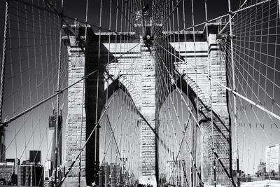Details Brooklyn Bridge - Manhattan - New York - United States