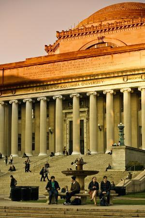 Columbia University - College - Campus - Buildings and Structures - Manhattan - New York - United S