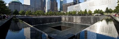 Panoramic Landscapes - Memorial - World Trade Center - New York - United States