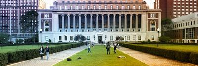 Panoramic - Columbia University - College - Campus - Buildings and Structures - Manhattan - New Yor