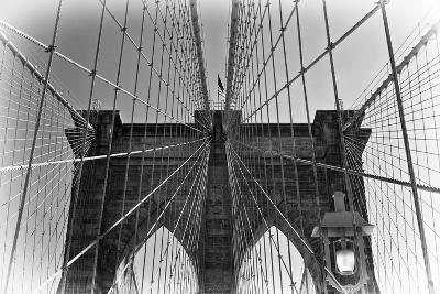 Details Brooklyn Bridge - Manhattan - New York - United States