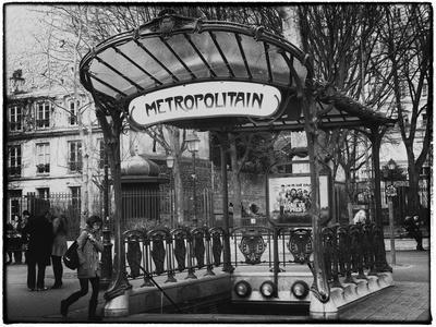 Abbesses Metro Station - Montmartre - Paris