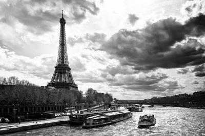 Eiffel Tower and the Seine River - Paris - France