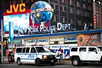 NYPD - Times square - New York City - United States