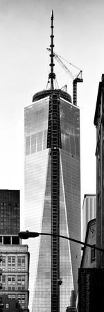 One World Trade Center (1WTC), Manhattan, New York, Vertical Panoramic View
