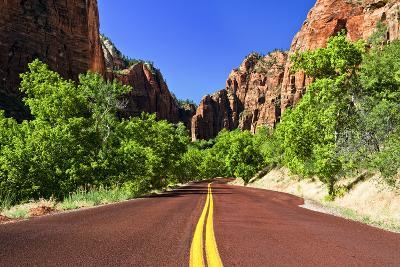 Scenic Drive - Zion National Park - Utah - United States